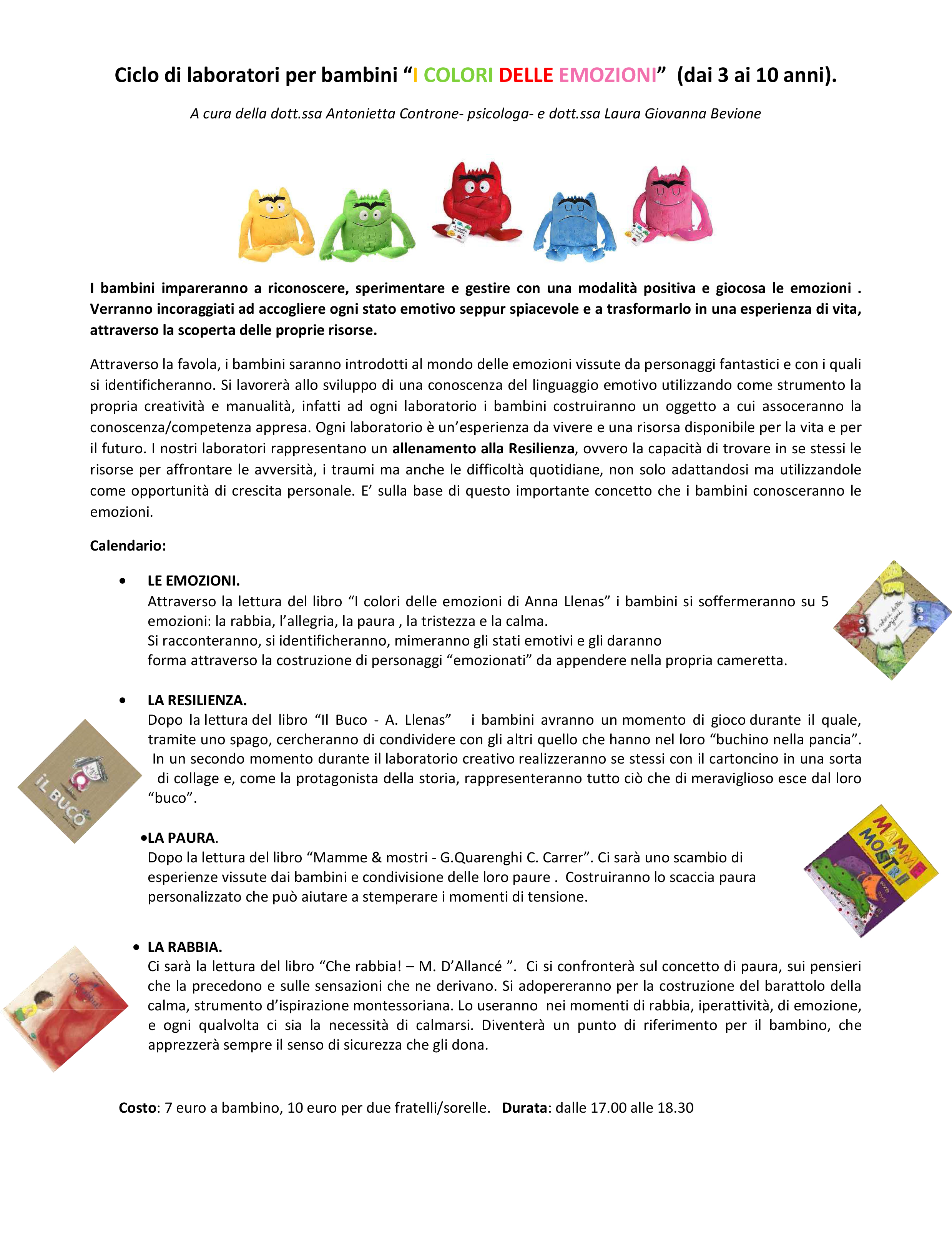 Laboratorio esperienziale di Antonietta Controne ESCAPE='HTML'