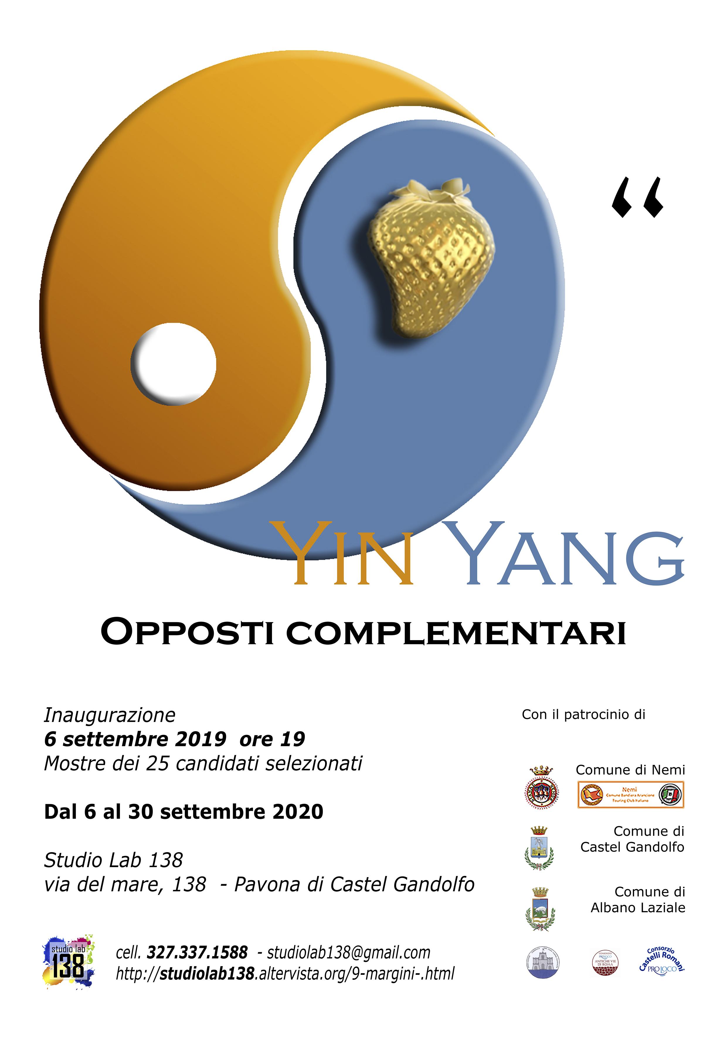 Yin Yang. Opposti complementari