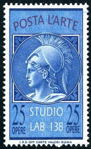 Posta dell'Arte. Cartoline e francobolli d'artista